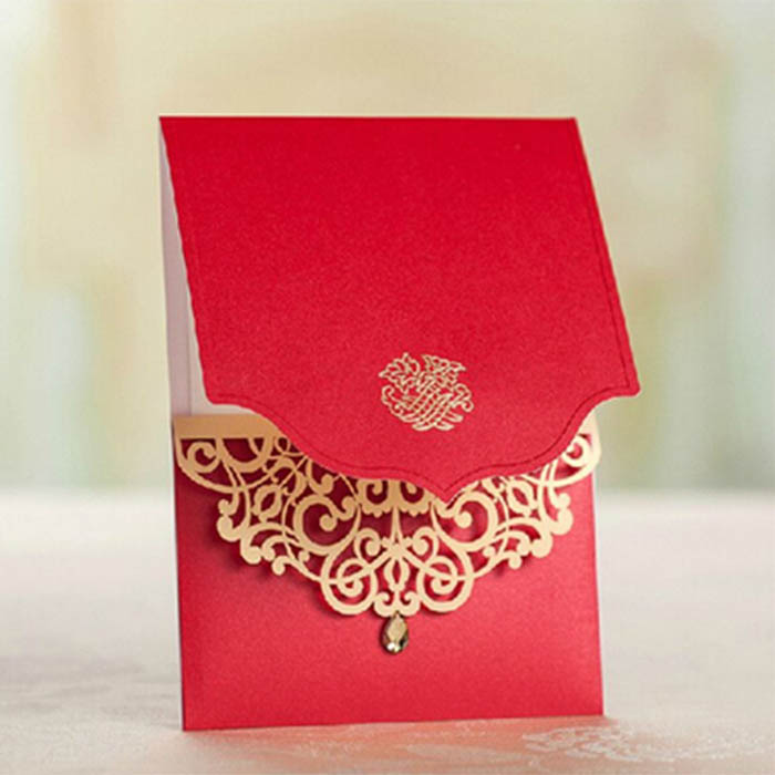 Personalized Wedding Cards In London Religious Function Invites
